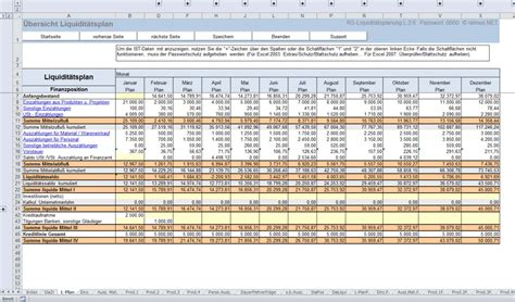 Rechnung Berechnen Englisch Liquidit 228 Tsplanung Beispiel Und Markt 252 Berblick