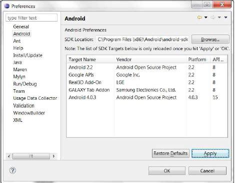 tutorial android dengan eclipse tutorial lengkap instalasi eclipse untuk android akademi