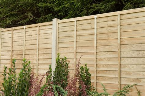ft  ft    pressure treated superlap fence