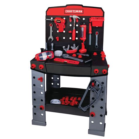 craftsman kids tool bench my first craftsman 37 quot deluxe craftsman ammateur workbench
