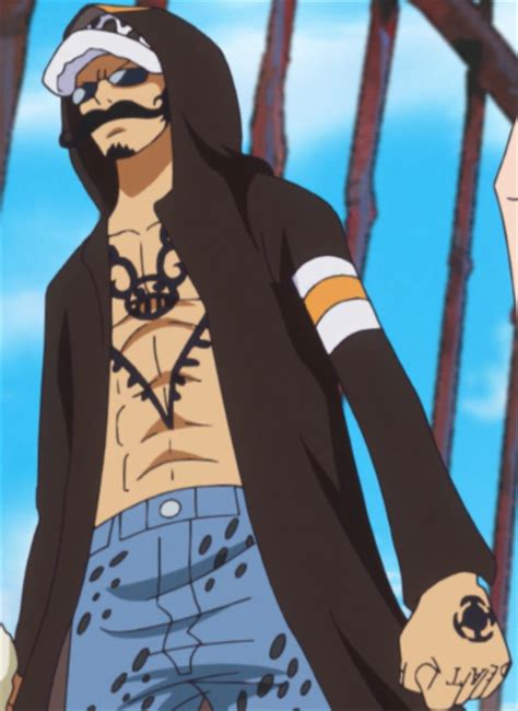 one piece tattoo wiki law dressrosa outfit