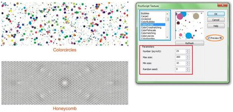 pattern fill adalah cara mewarnai objek fill outline dan fountain fill di