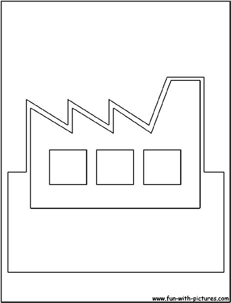 letter factory coloring pages