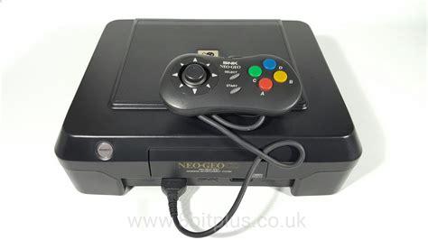 Cd Neo neo geo cd snk arcade cd console system 8bitplus