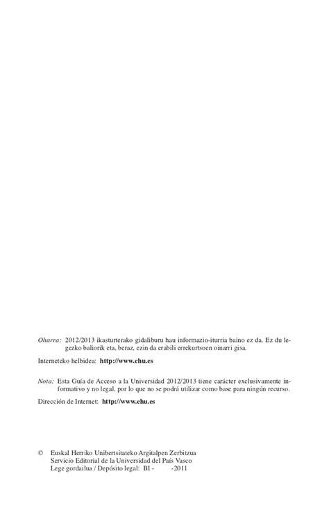 notas de corte upv guia acceso upvehu 12 13