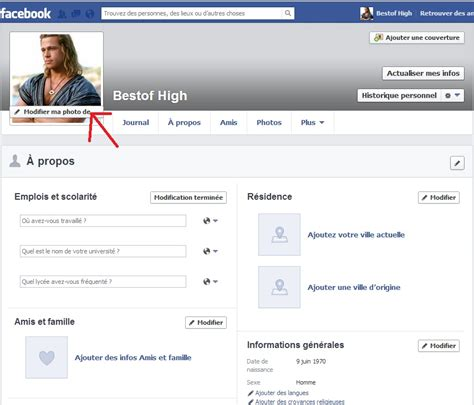 photo changer comment changer de photo de profil sur facebook