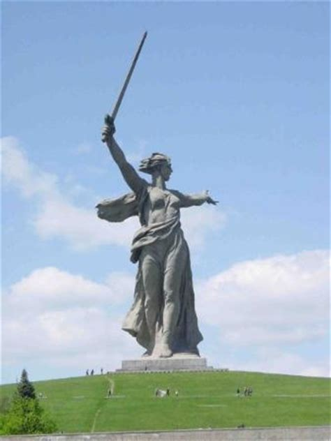 quot rodina mat quot the monument to the motherland in