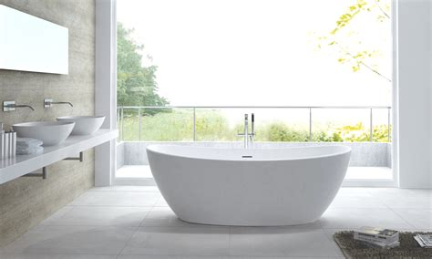 bathtubs hawaii freestanding bath quot hawaii quot solid stone bath tub tap