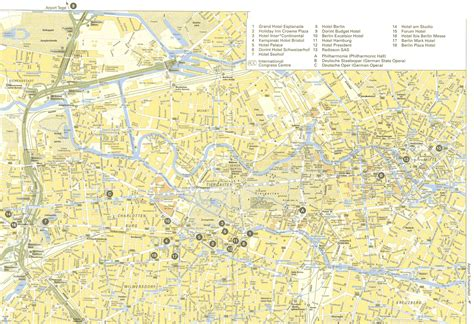 berlin germany map maps of berlin