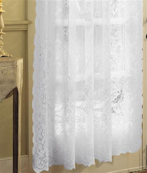 country curtains lace rod pocket curtains drapes american balmore country