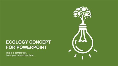Free Ecology Ppt Themes | ecology concept powerpoint template design slidemodel