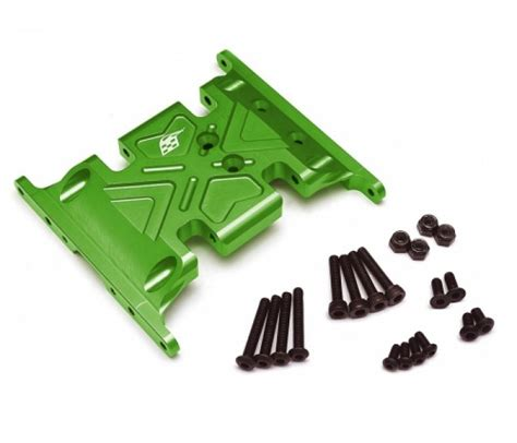 Aluminum Rear Axle Lock Out 2pcs Fits Axial Scx10 aluminum skid plate 1 pc recon g6 the fix certified