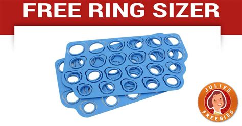 printable ring sizer walmart free ring sizer from blue nile julie s freebies