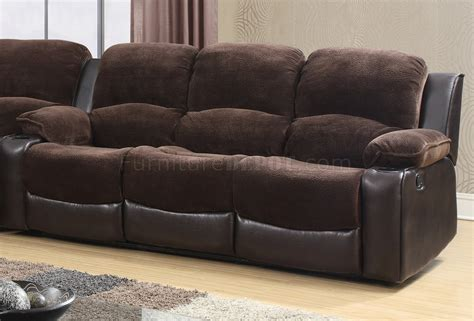 Chocolate Sectional Sofa 1301 Motion Sectional Sofa In Chocolate Brown By Global