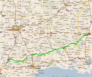 Texas Louisiana Map by Austin Tx To Warsaw In And Back