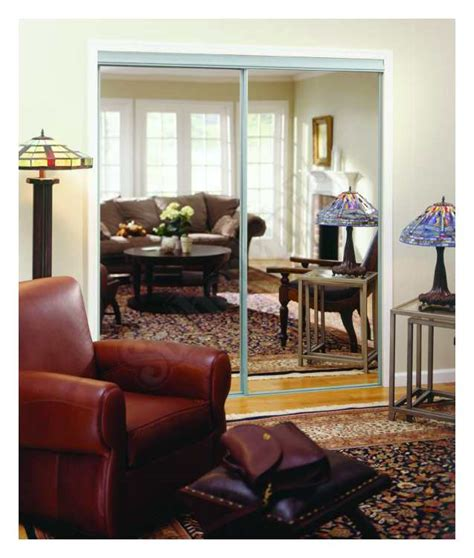 Home Decor Innovations Closet Doors by Home Decor Innovations 24 0006 By Pass Mirror Door Basic