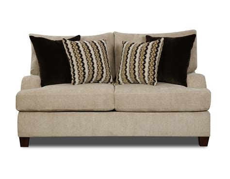 simmons loveseat simmons highland taupe loveseat