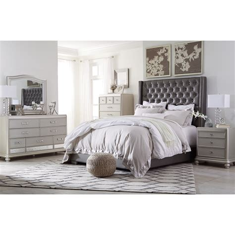 signature design bedroom furniture signature design by ashley coralayne queen bedroom group