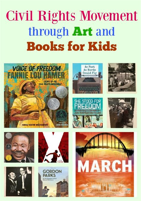 civil rights picture books civil rights movement through and books for