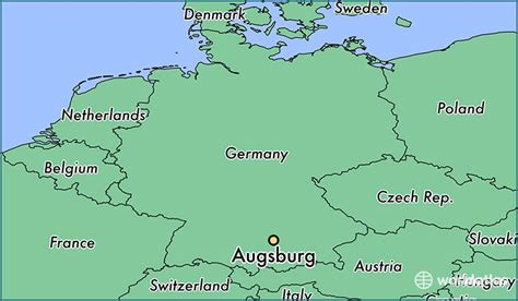 map augsburg germany where is augsburg germany where is augsburg germany