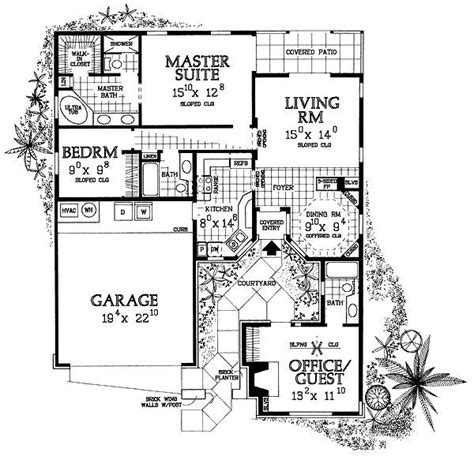 small courtyard house plans 17 best ideas about cute small houses on pinterest small