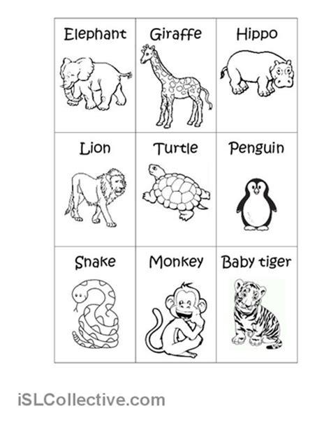wild animals worksheet for preschoolers wild animals
