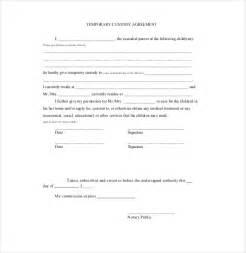 Parental Agreement Template custody agreement template affordablecarecat