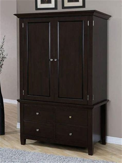 Clothes Armoire by Wardrobe Closet Wood Wardrobe Closet Armoire