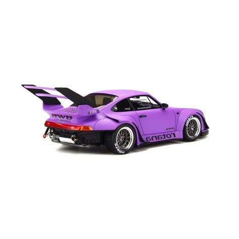 porsche rwb purple porsche 993 rwb rotana matt purple gt spirit gt737