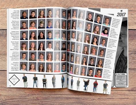 yearbook portrait layout ideas easy to use yearbook design ideas for class portrait pages