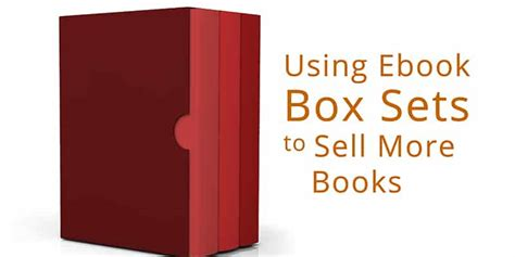 who sells epub format books using ebook box sets to sell more books free ebooks