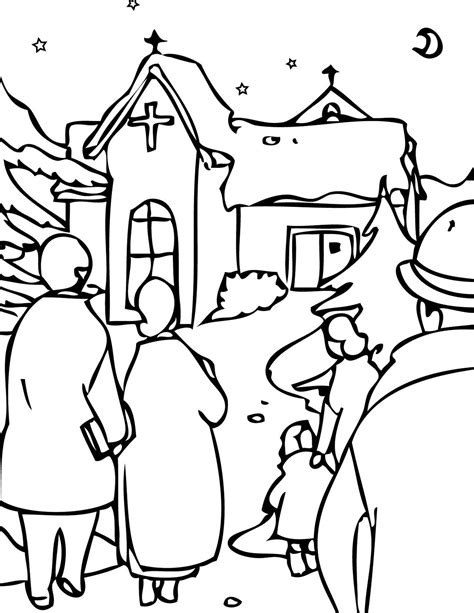 Coloring Pages Christmas Eve | christmas eve coloring pages learn to coloring
