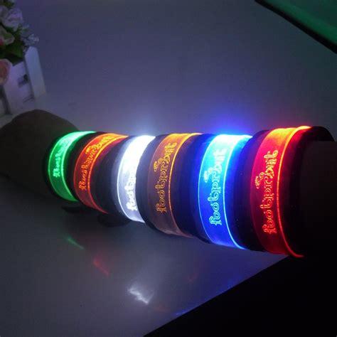free shipping wholesale led power bracelet led light up