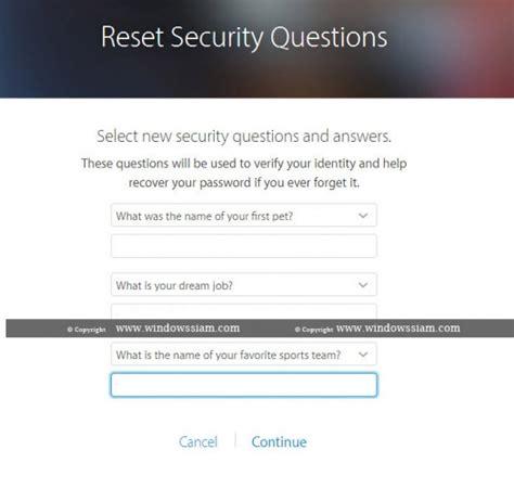 reset blackberry id forgot security question ล ม security questions ของ apple id แก ไขย งไง windowssiam