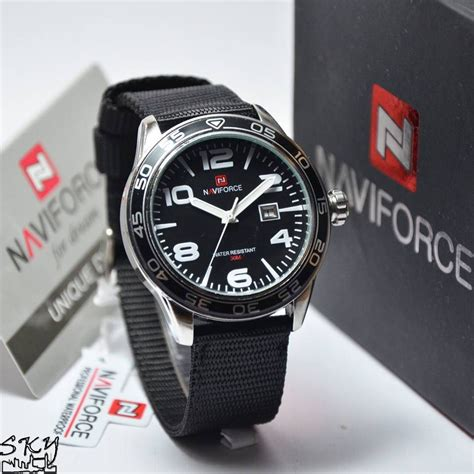 Jam Tangan Pria Naviforce Original Stainless Garansi 1 Thn best seller jam tangan naviforce kanvas original