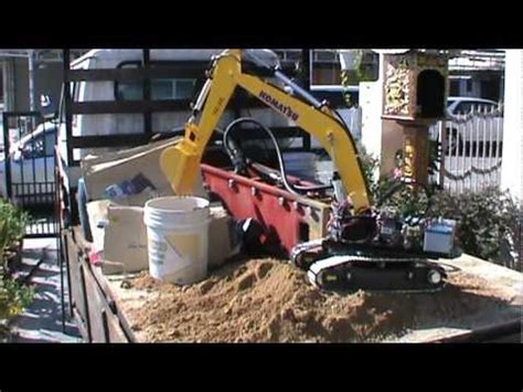 Harga Rc Excavator Hydraulic komatsu rc excavator hydraulic test how to
