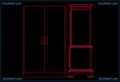 Cabinet cad blocks drawing, cabinet elevation, cabinet