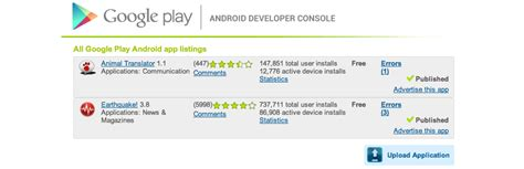 android developer console app store vs play stores in numbers master of code global
