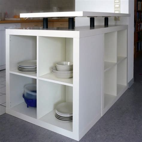 Diy Ikea Kitchen Island 10 Diy Ikea Hacks For Storing Tableware In Your Kitchen
