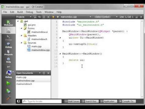 programming using qt c qt 3 intro to gui programming youtube