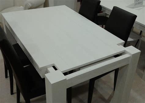 tavolo laccato bianco tavolo allungabile in abete spazzolato laccato bianco