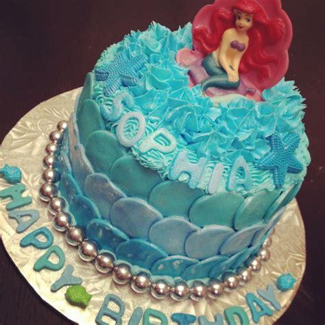 Ariel Birthday Cake Decorations by Ariel Birthday Cake Birthday Ideas