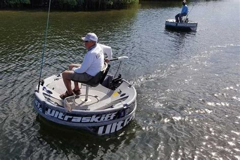 round boat ultraskiff ultraskiff 360 proves that round boats can be as adept as