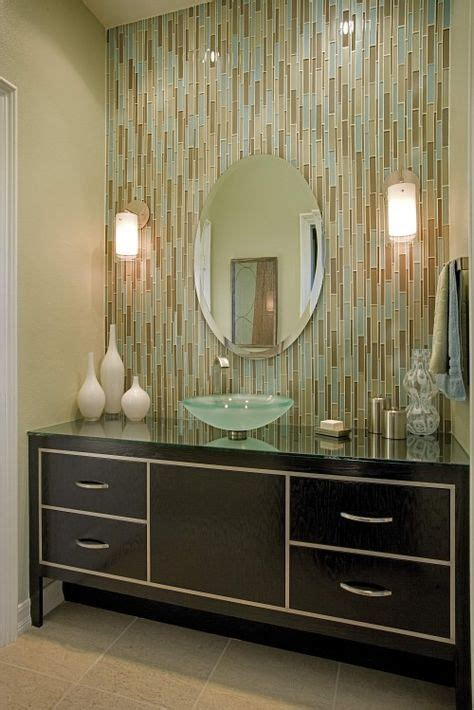 Bathroom Vanity Tile Ideas by Tile Work Bathroom Mirror On Tile