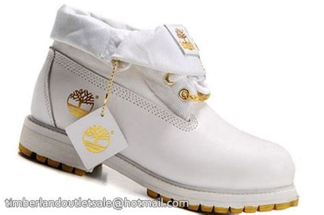 white and gold timberland boots 2016 timberland mens roll top boots white gold