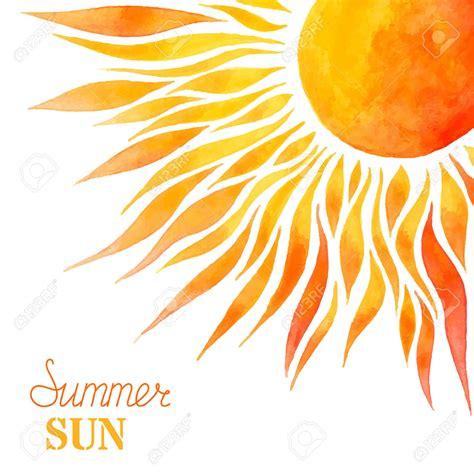 bright clipart sun background pencil and in color bright