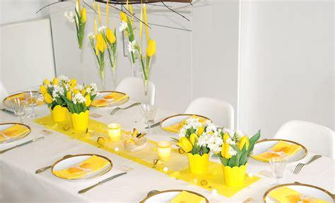 ma boutique d 233 co table d 233 coration de table jaune