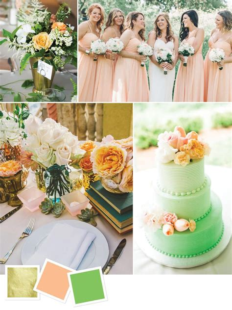 wedding colors 15 wedding color combos you ve never seen you ve green
