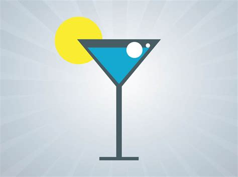 cocktail icon vector cocktail icon vector graphics freevector com