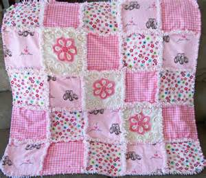 Pink Quilt Deerecountry Quilts Pink Deere Rag Quilt With